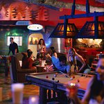 Shady Grove Lounge offers craft brews, Airstream bowling, billiards and more.  Check out Happy H