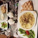 1/2 camembert et l'oeuf en cocotte au maroilles