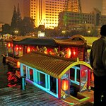 floating restaurant and tour boat