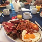 One of Martin's amazing breakfasts!!!