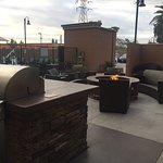 Bonfire Area Beside the Heated Pool and Jacuzzi