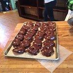 Chocolate Iced donuts