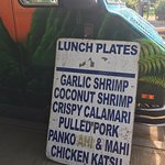 Kina'ole Food Truck Lunch Plates