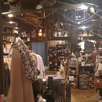 Neat gift shop/tcandy shop/card shop at CrackerBarrel