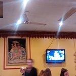 Diners at the Taj, Jan 1, 2017