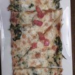 Spinach Florentine Flat Bread