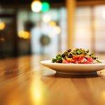 AHI TUNA flash seared | ponzu | fresno chile