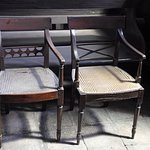 English Regency style chairs