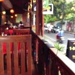Looking onto Jalan Nakula