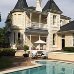 Victorian style house which is totally renovated keeping the old style and atmosphere.
