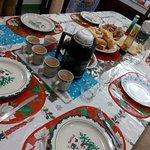 Breakfast on Christmas Day