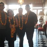 Grand Welcome at Sonar Haveli