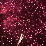 Hotel New Year Firework Display