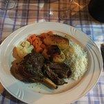 Lamb shank!