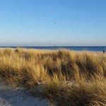Nur wenige Schritte zum Strand.....