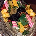 New Year festive platter