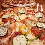 medium pizza espagnol