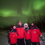 Northern Lights with our friends.