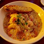 Shrimp and Grits- nicely presented and delicious!