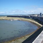 Hurst Castle - A Tudor Fort massively strengthend and modernised in mid-Victorian times.