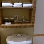 Bathroom with adequate amenities