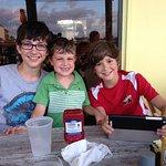 Robbie, Brady & Cubby say Grandpa Dave is so silly