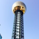 The view from the top is amazing! 360 degrees of  Knoxville's most beautiful scenery and informa