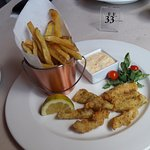 My Half Portion of Calamari & Chips (45 ZAR)