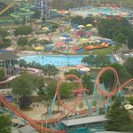View from atop of Carowinds