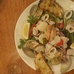 Freshest seafood salad ever!