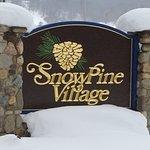 SnowPine Village Sign