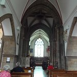 Historic Town Church nave, St. Peter Port, Guernsey