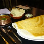 Dakhin Dosa & Chicken Curry