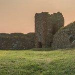 Piel Castle - inside the castle walls