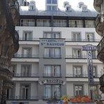 Hôtel Saint Sauveur vu depuis la rue Saint Joseph