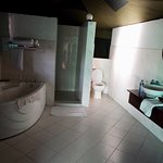 great bathrooms in the tents!