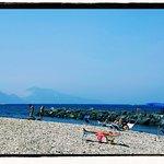 Beach at Della Lobra