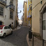 One of the many beautiful Lisbon streets