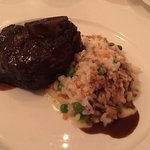 Beef short ribs with risotto
