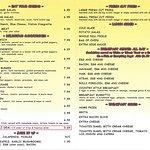 Rolli Pork Loin Extraordinaire Menu page 2