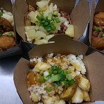 Canadian Poutine in sweet T&T!