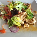 Lion Fish Salad