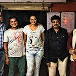 Famous Marathi director चंद्रकांत कुलकर्णी , Actor सचिन खेडेकर , ज्येष्ठ रंगकर्मी अरुण काकडे Kak