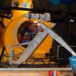 Interactive display - deep sea claw