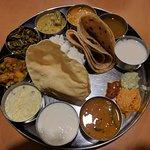 Thali Set. Great value and good food.