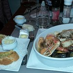 Northern Bouillabaisse and its sides
