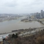 the view from the incline