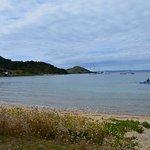 Taurikura Beach...perfect for kayaking and swimming