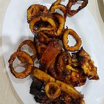 grilled squid with Acia's secret sweet sauce