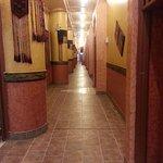 les longs couloirs